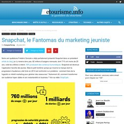 Snapchat, le Fantomas du marketing jeuniste