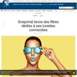 Snapchat lance des filtres dédiés à ses lunettes connectées