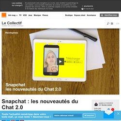 Snapchat : les nouveautés du Chat 2.0