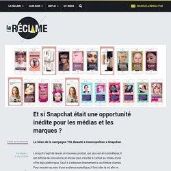 Et si Snapchat était une opportunité inédite pour les médias et les marques?