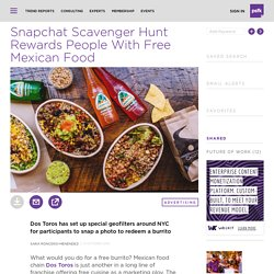 Snapchat Scavenger Hunt Rewards People With Free Tacos