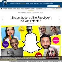 Snapchat sera-t-il le Facebook de vos enfants?