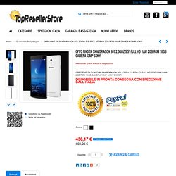 """OPPO FIND 7A SNAPDRAGON 801 2.3Ghz 5.5"""" FULL HD RAM 2GB ROM 16GB CAMERA 13MP SONY - Top Reseller Store"""