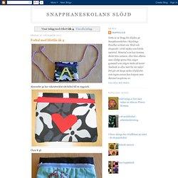 åk 4slöjdblogg Snapphaneskolan