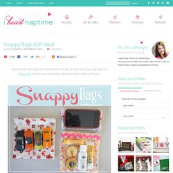 Snappy Bags {Gift Idea}