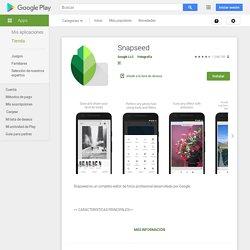 Snapseed - Aplicaciones en Google Play