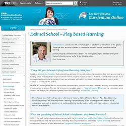 Kaimai School / School snapshots / Curriculum stories