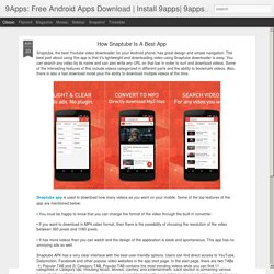9Apps: Free Android Apps Download