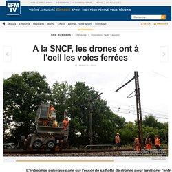 A la SNCF, les drones ont à l'oeil les voies ferrées