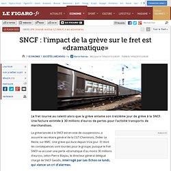 SNCF : l'impact de la grève sur le fret est «dramatique»