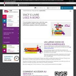 SNCF e-LIVRE lisez à bord