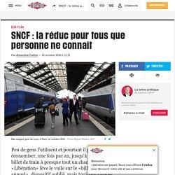 SNCF : la réduc pour tous que personne ne connaît