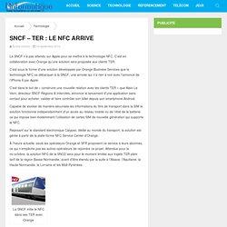 SNCF – TER : le NFC arrive