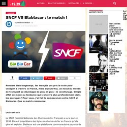 SNCF VS Blablacar : le match !