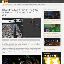 Sneak preview of upcoming Race Nuke course + more added from vault