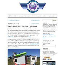 Sneak Peak: TAXA's New Tiger Moth