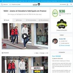 1083 - Jeans et Sneakers fabriqués en France