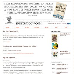 SneezingCow.com - Home of Michael Perry – Author, Humorist, Singer/Songwriter, Amateur Pig Farmer