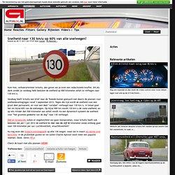Autoblog.nl: snelheid naar 130 km/u