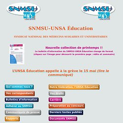 SNMSU-UNSA Education
