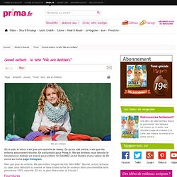"""Snood enfant : le tuto """"We are knitters"""""""