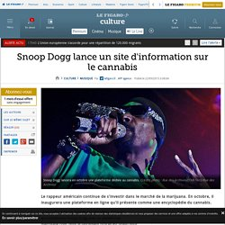 Snoop Dogg lance un site d'information sur le cannabis