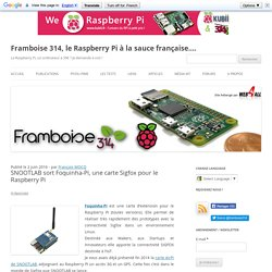 SNOOTLAB sort Foquinha-Pi, une carte Sigfox pour le Raspberry Pi