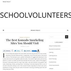 The Best Komodo Snorkeling Sites You Should Visit