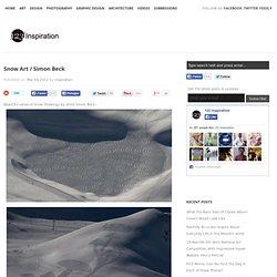 Snow Art / Simon Beck