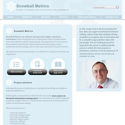 Snowball Metrics in partnership with elsevier