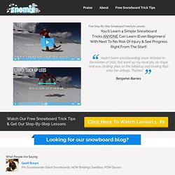 Snow travel help, tips, how-to's & interviews - Snomie