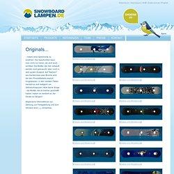 Designerlampen aus Snowboards: Originals