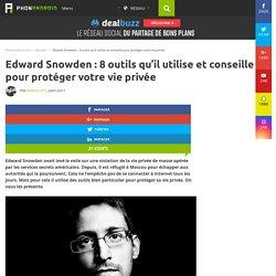 Edward Snowden : 8 outils qu'il utilise et conseille pour protéger votre vie privée