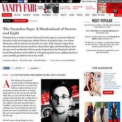 Snowden Speaks: A Vanity Fair Special Report