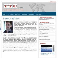 Snowden vs NSA (suite)-TTU