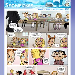 Snowflakes - A comic by James Ashby, Chris Jones and Zach Weiner