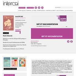 Fiche InterCDI : SNT et documentation