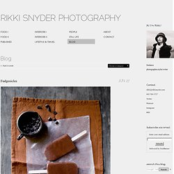 Rikki Snyder Photography | Blog | Fudgesicles