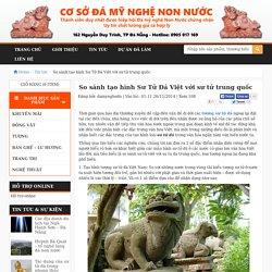 So sánh tạo hình Sư Tử Đá Việt với sư tử trung quốc