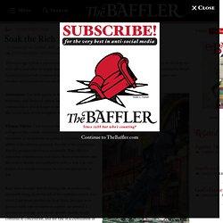 Soak the Rich - The Baffler