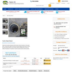 Septic Tank Soakaway Problems – Buy Odour Treatment Enzymes