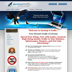 Soaring4Traffic Manual Traffic Exchange