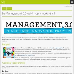 Blog » Le Management 3.0 est-il trop « marketé » ?