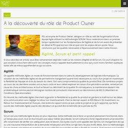 A la découverte du rôle de Product Owner