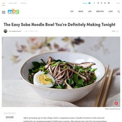 Soba Noodle Bowl (Gluten-Free)