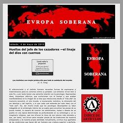 Europa Soberana: Huellas del jefe de los cazadores —el linaje del dios con cuernos