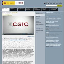 sobre el CSIC