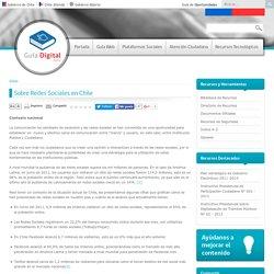 Sobre Redes Sociales en Chile