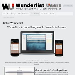 Sobre Wunderlist