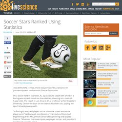 Soccer Stars Ranked Using Statistics